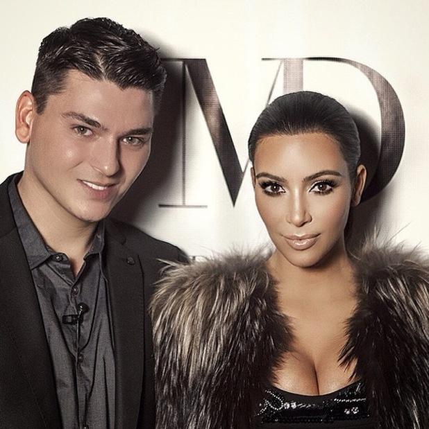 Секреты звезды: визажист Ким Кардашьян раскрыл ее косметичку