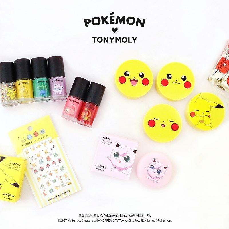 Пика-красота: Tony Moly выпустили коллекцию косметики с Покемонами