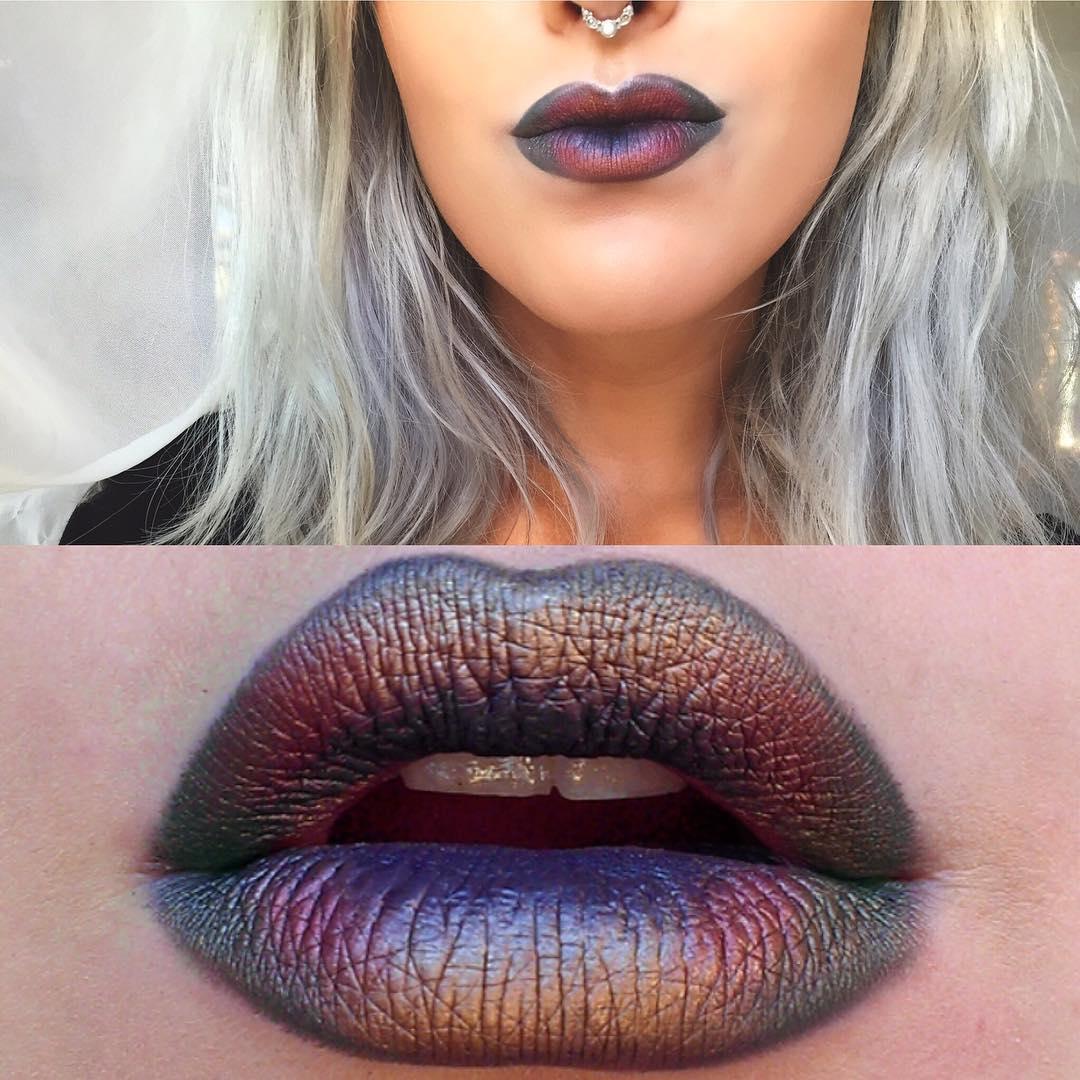 Губы русалки - новый beauty-тренд из соцсетей фото