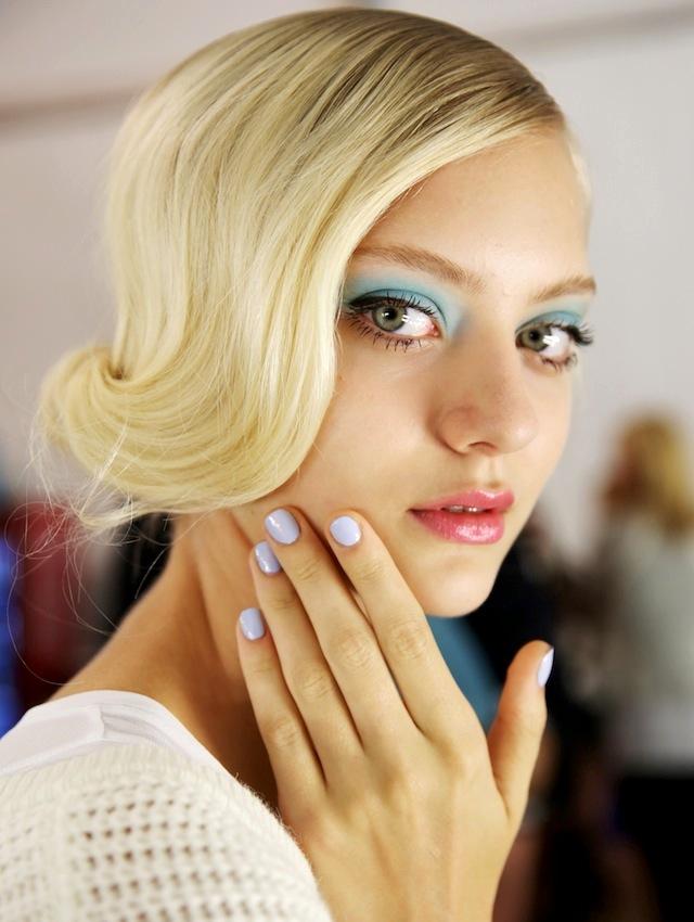 тренды макияжа лето 2014