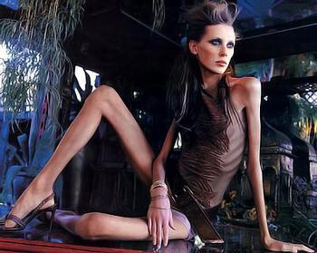 Бойкот худобе! Французы выступили против худых моделей
