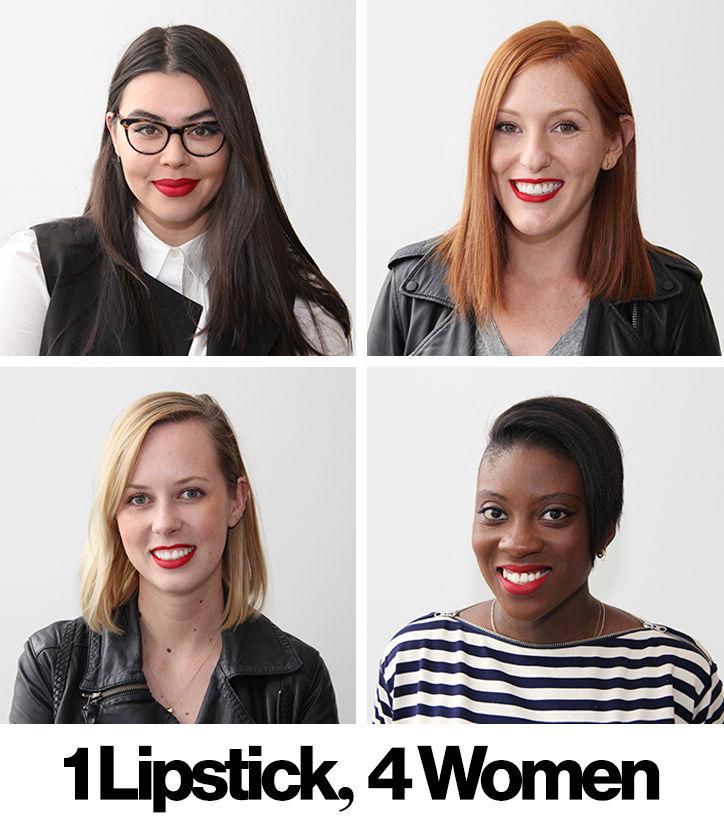 Фотофакт: красная помада подходит каждой девушке!