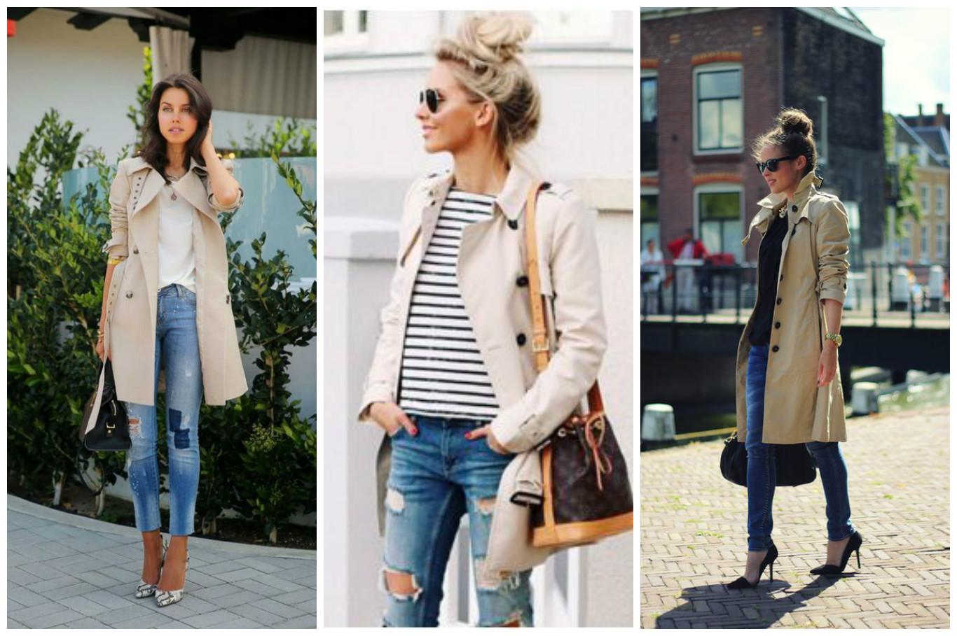 Советы стилиста: с чем носить модный тренч? фото