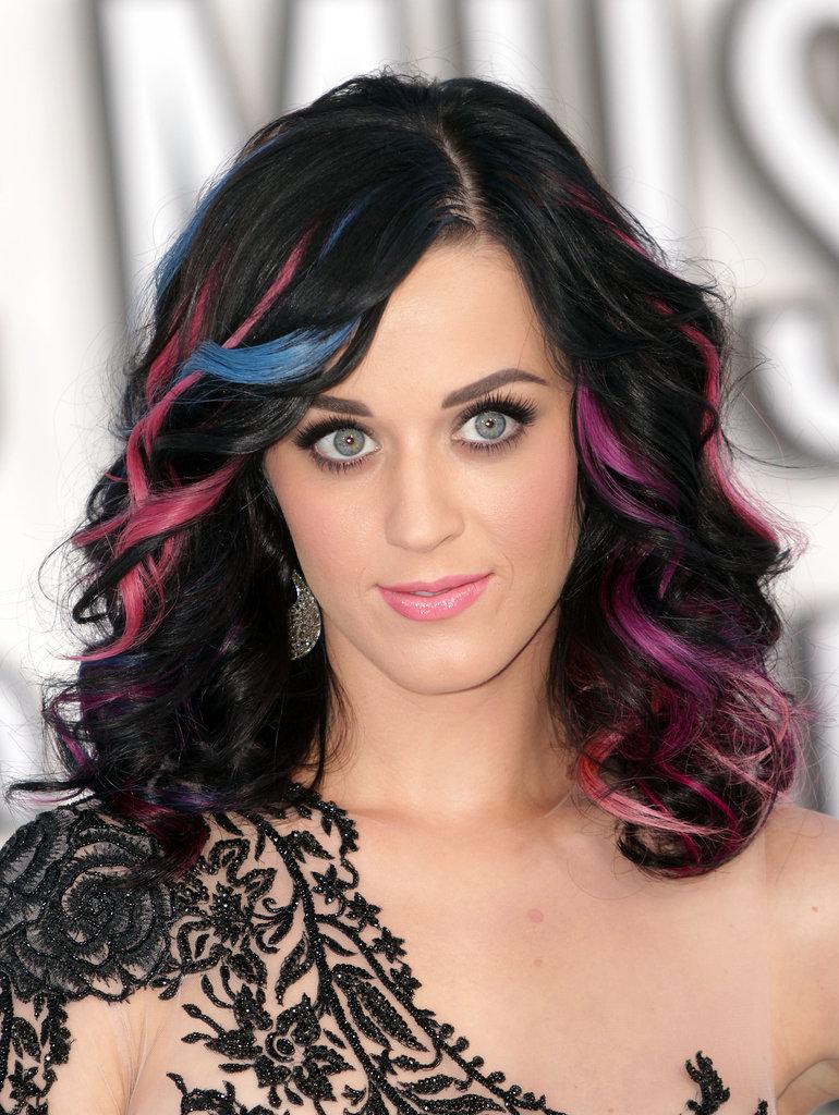 20 вариаций оттенков волос Кэти Перри
