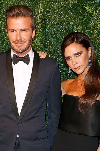 Дэвид и Виктория Бекхэм блистают на церемонии в Лондоне