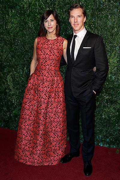 звезды на London Evening Standart Theatre Awards