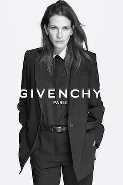Роскошная Джулия Робертс позирует без макияжа для Givenchy
