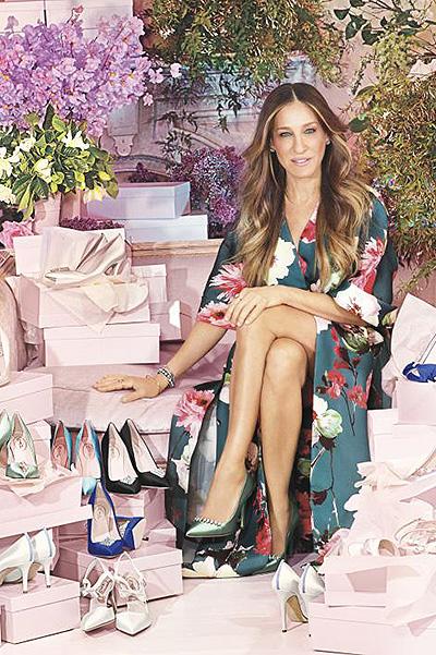 Все для тебя: Сара Джессика Паркер обула невест в роскошные туфли