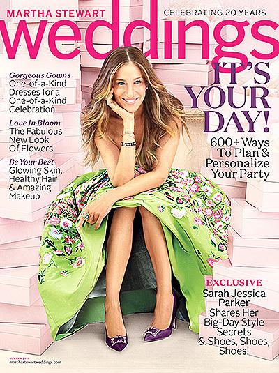 Все для Все для тебя: Сара Джессика Паркер обула невест в роскошные туфлитебя: Сара Джессика Паркер обула невест в роскошные туфли