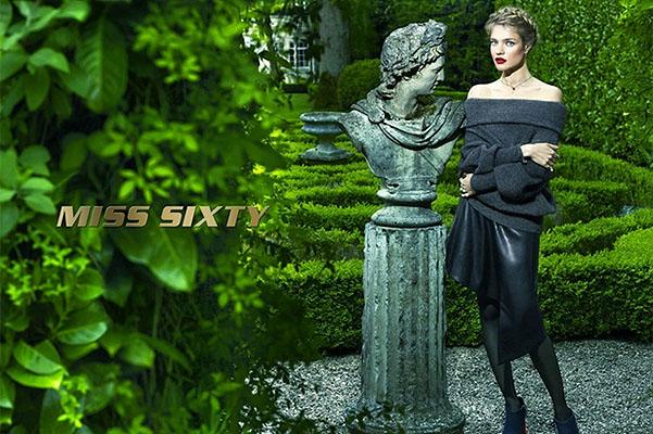 Miss Sixty: Наталья Водянова демонстрирует элегантные наряды