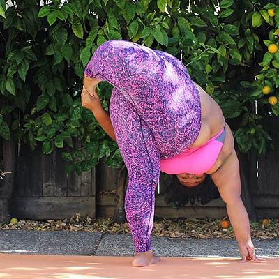 Пятничный мотиватор: гибкость этой толстушки шокирует тебя