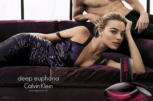 Calvin Klein  Deep Euphoria аромат марго робби фото