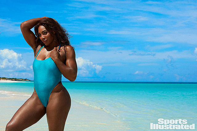 Серена Уильямс снялась в купальнике для журнала Sports Illustrated (ФОТО)
