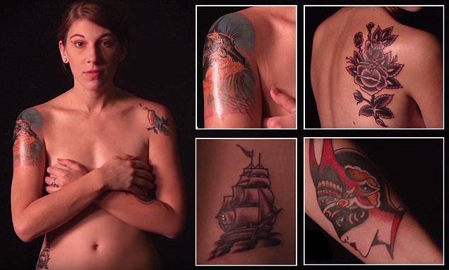 Эволюция татуировок: 100 лет американских тату за 3 минуты