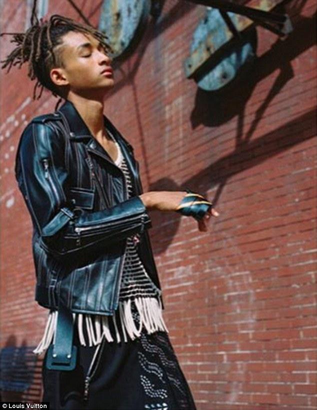 Мальчик в юбке: сын Уилла Смита стал музой Louis Vuitton
