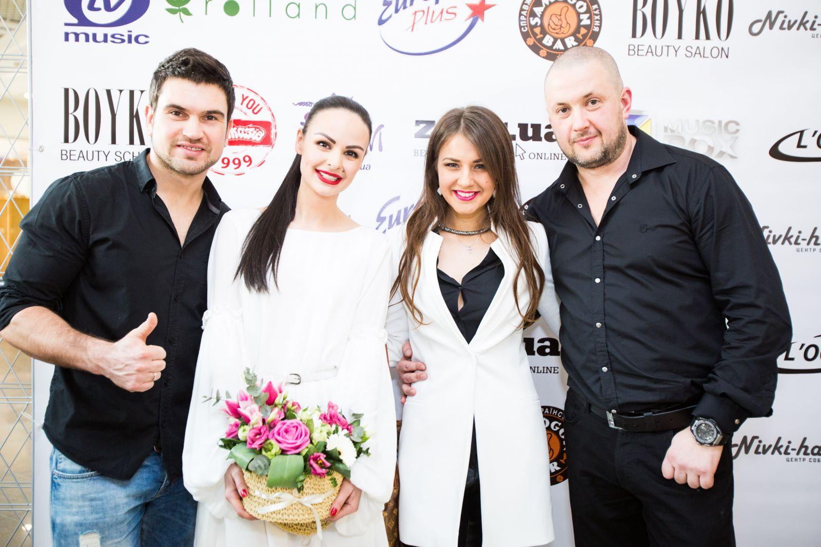 Василий Бондарчук и Катя Веласкес в Boyko Beauty Salon