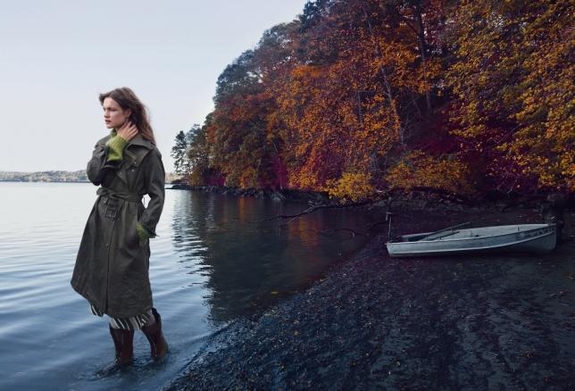 Девушка из деревушки: Наталья Водянова появилась в необычном образе