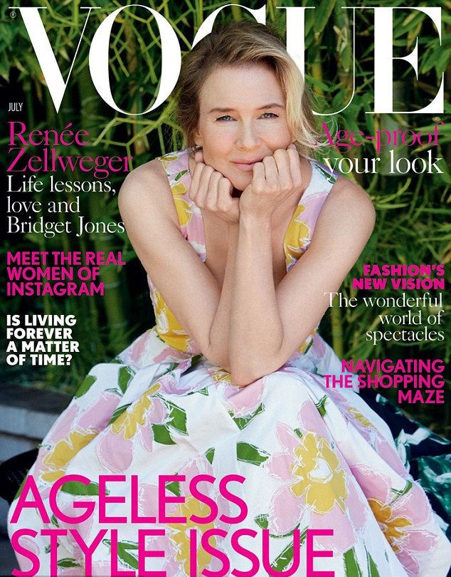"""Рене Зеллвегер рассказала о Бриджит Джонс: """"Да нормальный у нее вес!"""""""