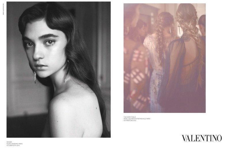 И снова наши: Украинка стала лицом рекламной кампании Valentino Valentino