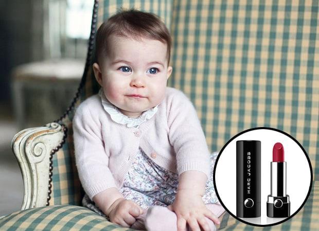 Моя принцесса: Marc Jacobs посвятил новый оттенок помады дочке Кейт Миддлтон