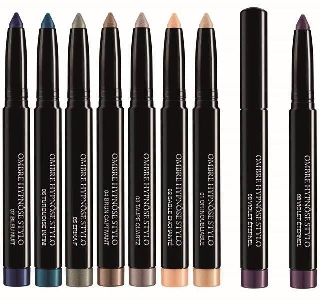 Стойкий и насыщенный макияж: новые тени-карандаш Ombre Hypnose Stylo от Lancome