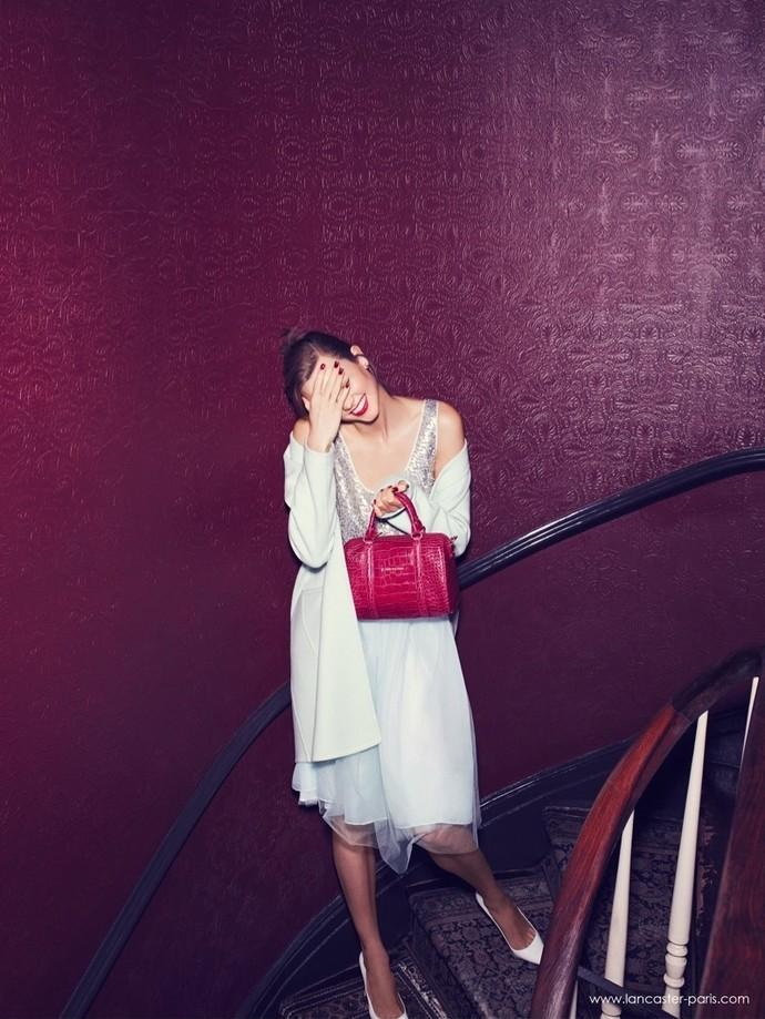 Новые лица: Карли Клосс в рекламной кампании Lancaster Paris