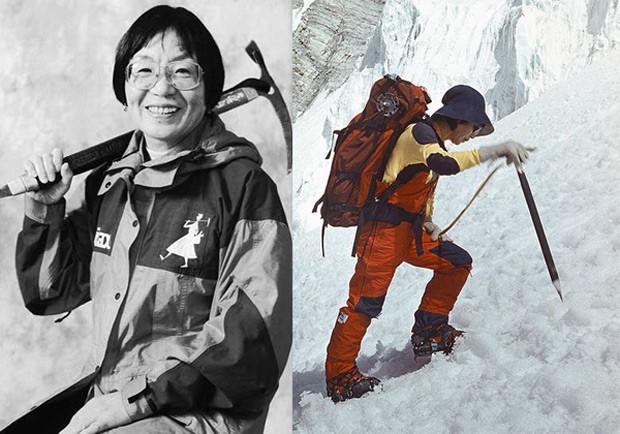 Юнко Табей первая женщина на Эвересте фото