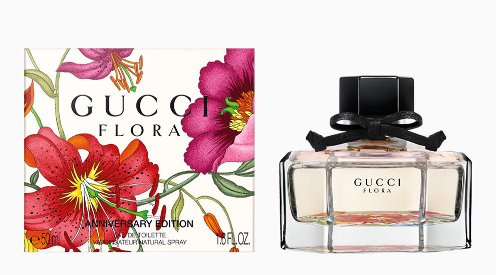 С юбилеем: праздничная версия аромата Flora by Gucci Anniversary Edition