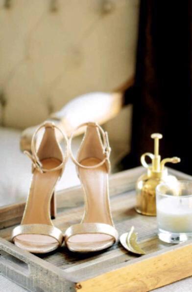 Счастливая невеста, или детали свадебного образа Никки Рид