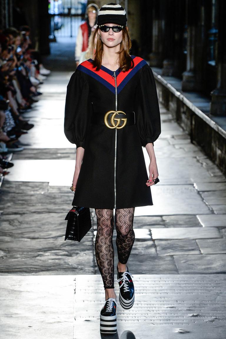 Замахнулись на королей: в Вестминстерском аббатстве показали коллекцию Gucci Resort 2017