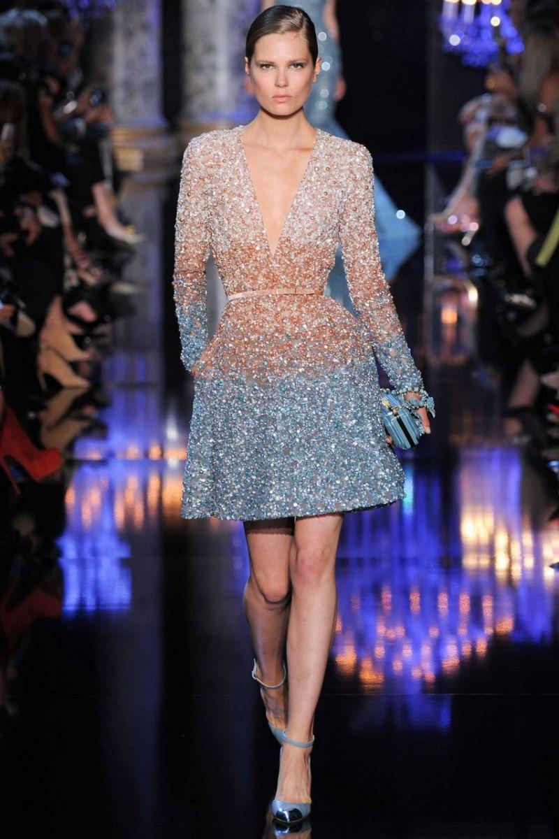 Elie Saab Haute Couture осень-зима 2014/15