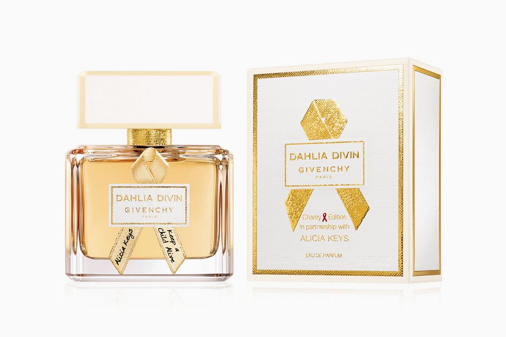 Во благо: Givenchy и Алиша Киз выпустили благотворительную версию Dahlia Divin Black Ball