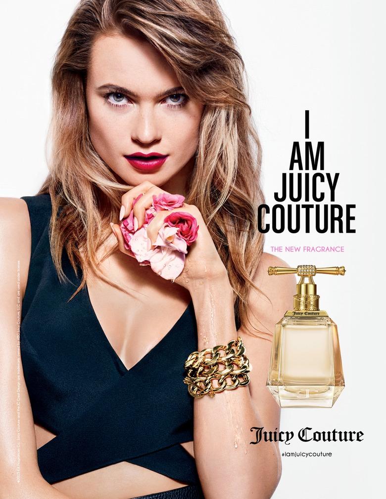 I Am Juicy Couture: Бехати Принслу презентовала новый аромат
