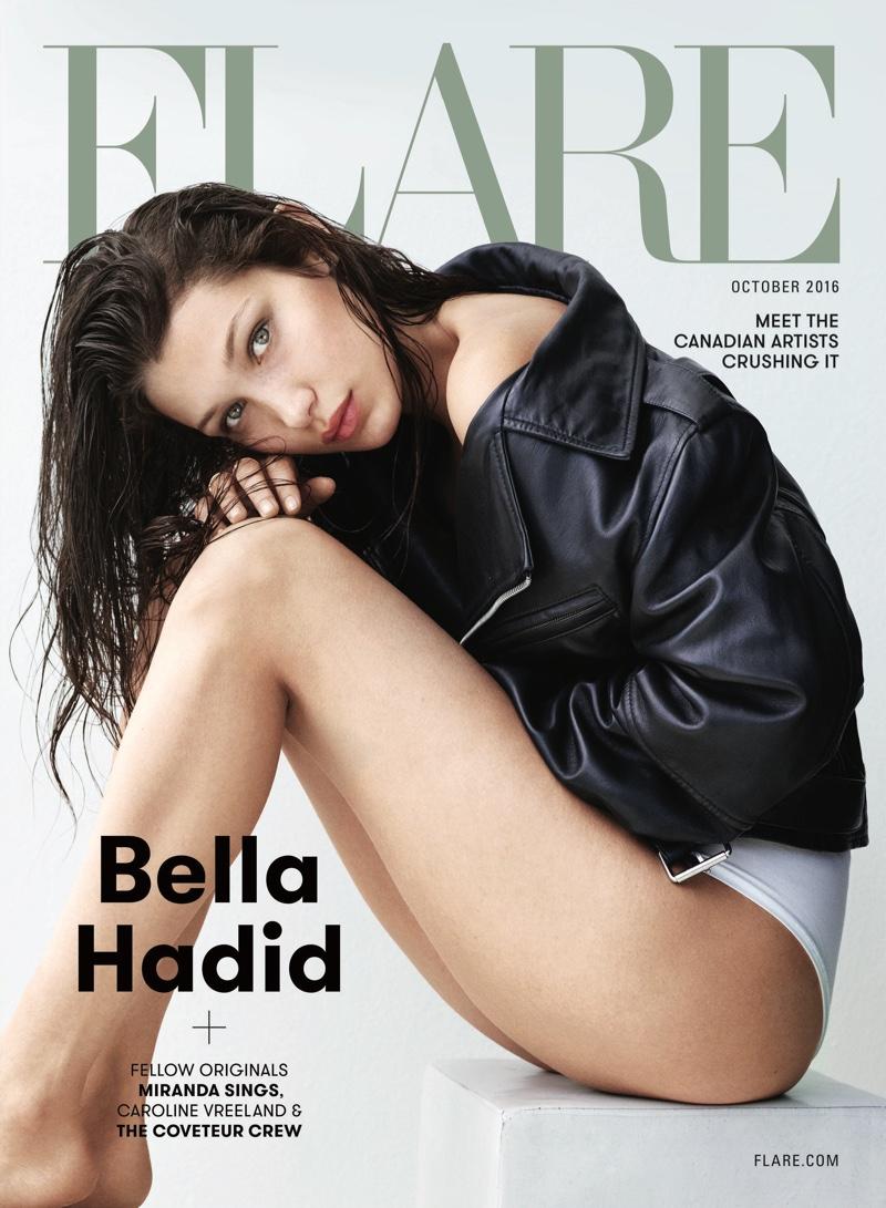 Белла Хадид обнажилась сразу в двух фотосессиях для глянца (ФОТО)
