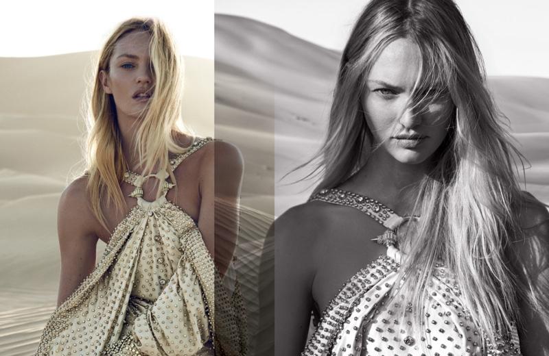Новые победы: будущая мама Кэндис Свейнпол стала лицом знаменитого аромата Givenchy