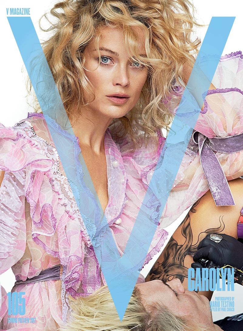 Кендалл Дженнер, Лара Стоун и другие известные модели снялись в необычном фотосете