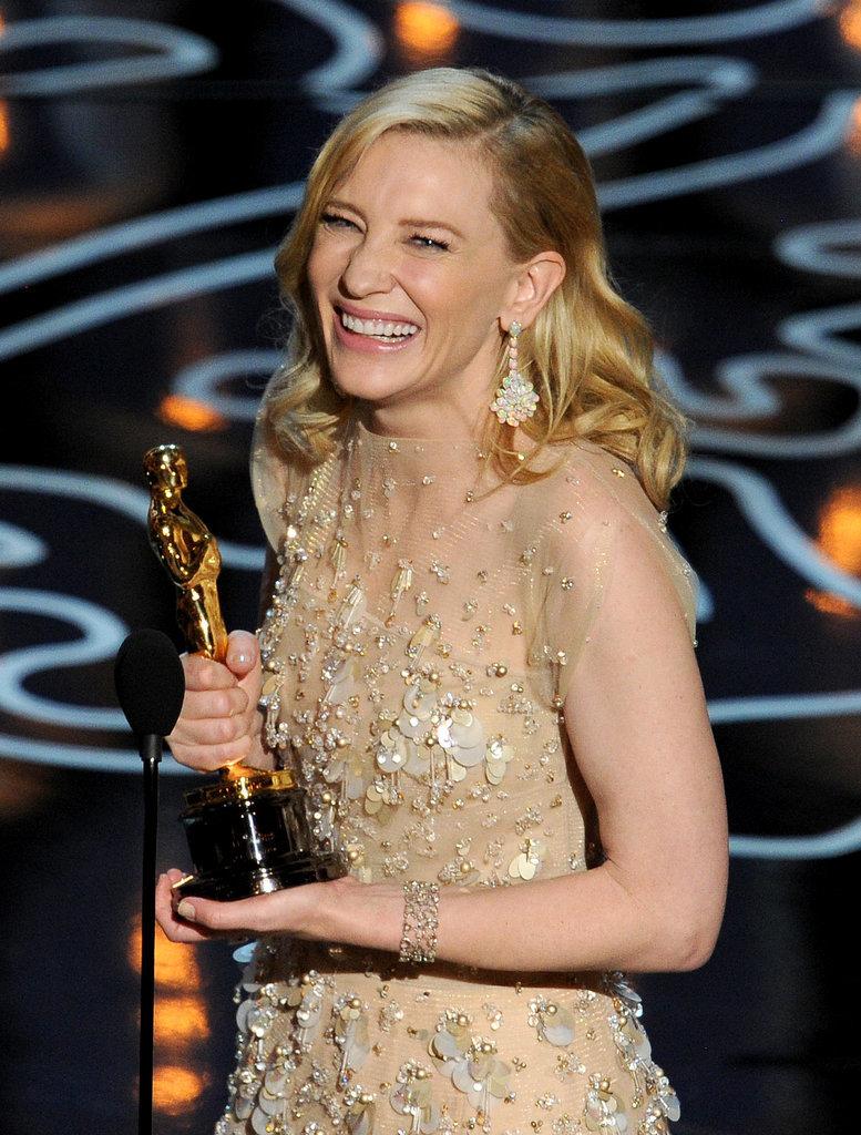 Кейт Бланшетт на вручении Оскара 2014