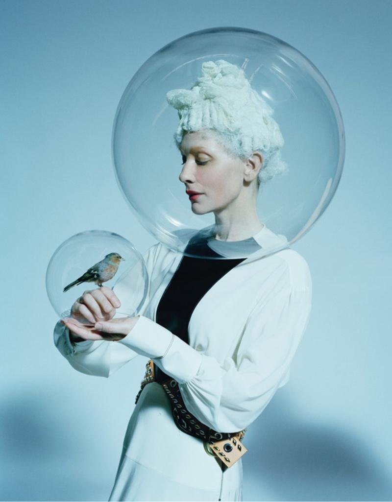 Маленький Принц: Кейт Бланшетт в авангардном образе на страницах W Magazine