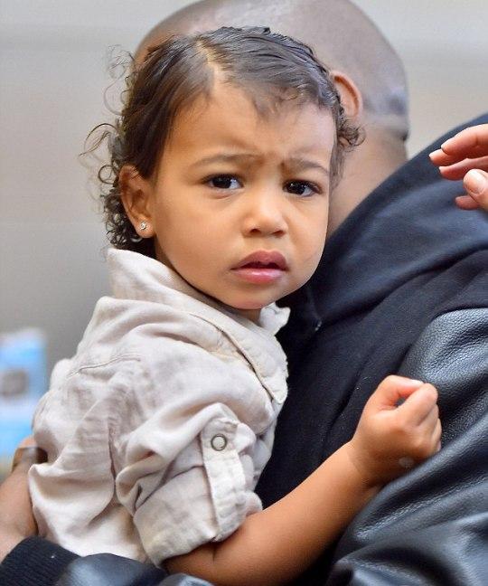 Сногсшибательная малышка: лучшие beauty-образы Норт Уэст
