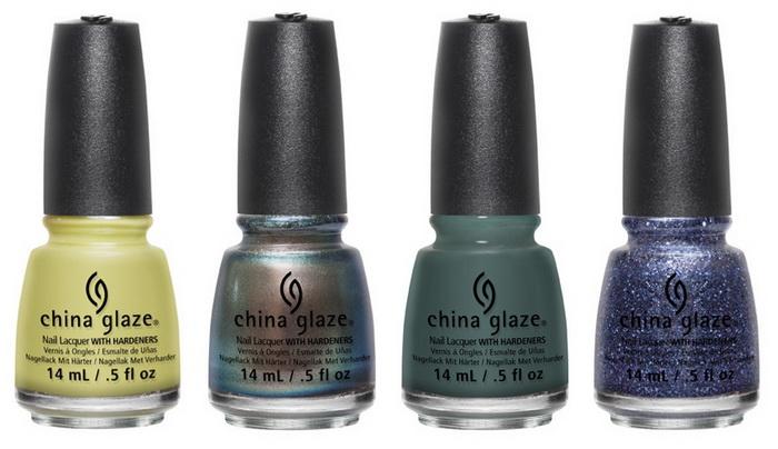 На природу! Коллекция лаков для ногтей China Glaze осень 2015