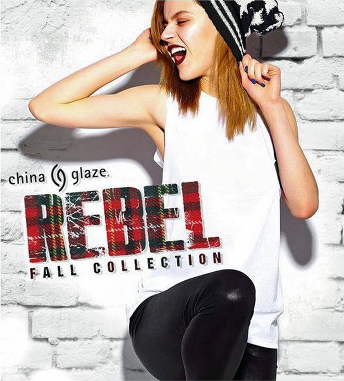 Это бунт: новая коллекция лаков для ногтей осень 2016 Rebel от China Glaze