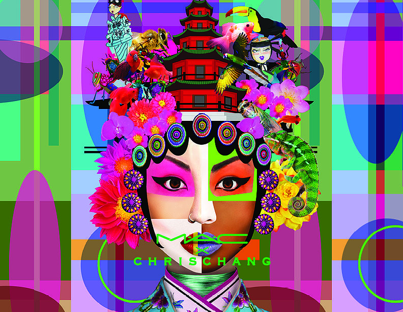 Не косметика, а искусство: невероятно яркая коллекция MAC и Chris Chang