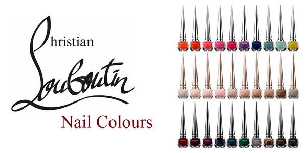 Первая роскошная коллекция лаков для ногтей от Christian Louboutin