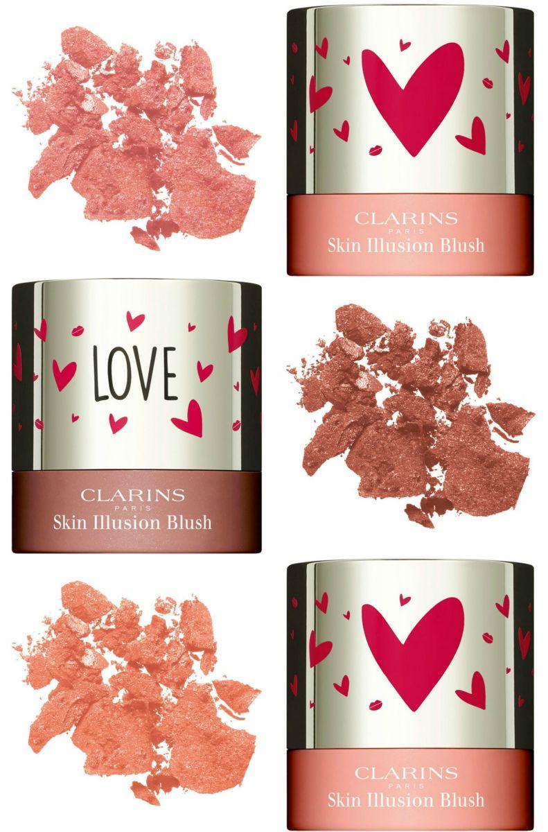 Clarins представил коллекцию макияжа ко Дню святого Валентина 2017 (ФОТО)