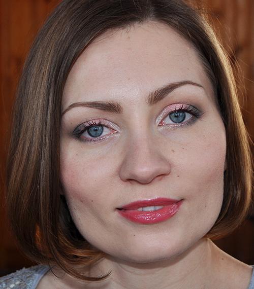 Пошаговый макияж с палеткой Clarins Garden Escape 6 Colour Eye Palette