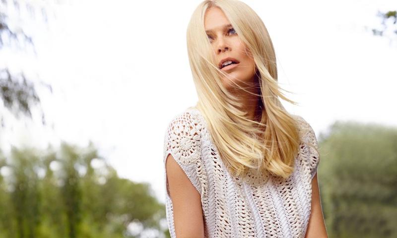 Нежнее весны: Клаудия Шиффер в рекламе роскошного кашемира фото