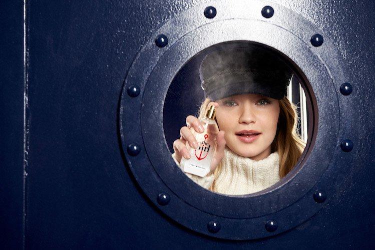 Джиджи Хадид создала аромат для Tommy Hilfiger - the Girl