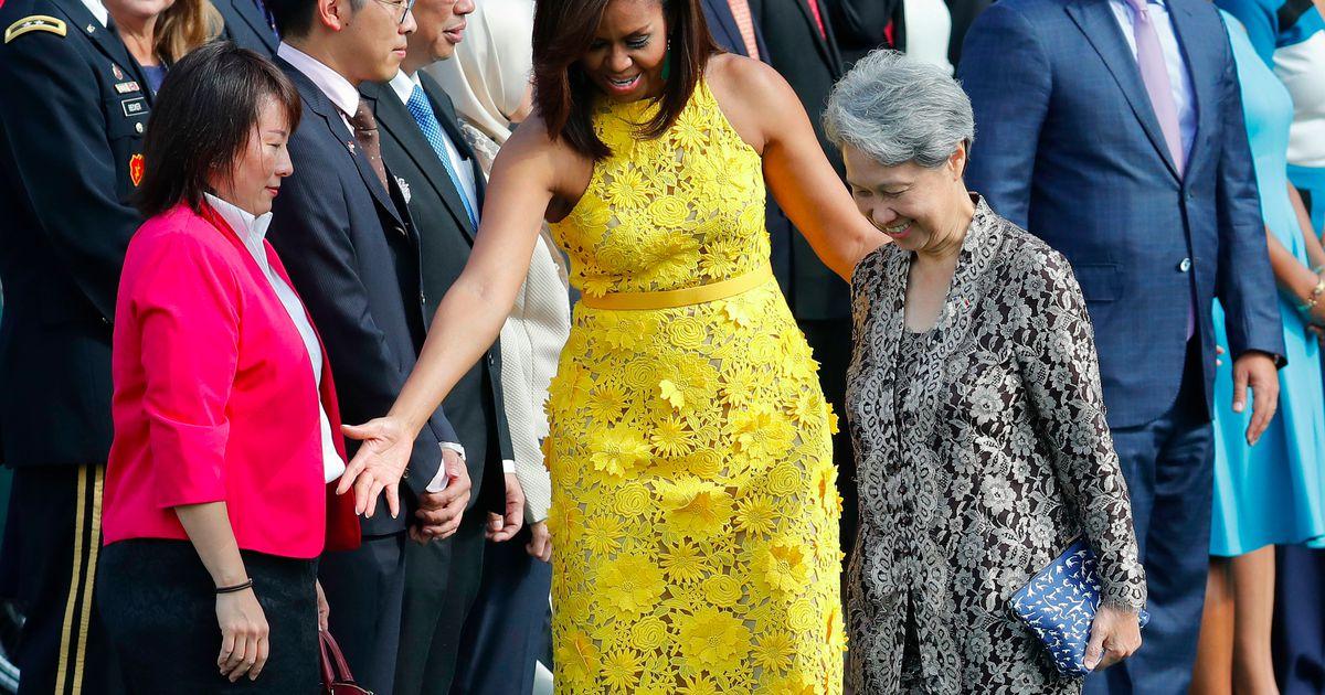 Супруга премьер-министра Сингапура посетила Белый дом с клатчем за 10 долларов