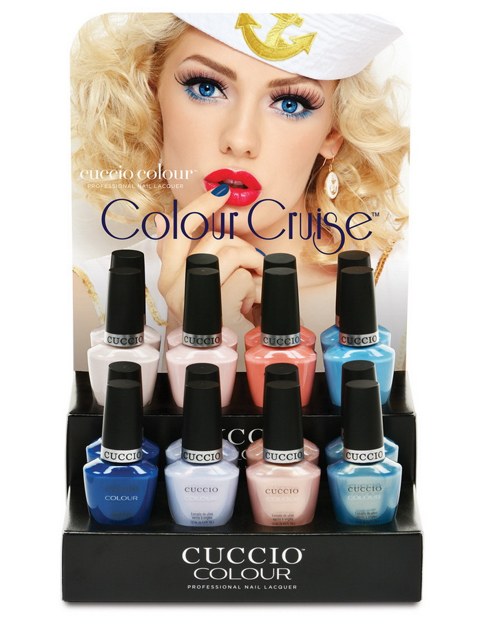 Морские глади: коллекция лаков для ногтей Colour Cruise лето 2016 от Cuccio
