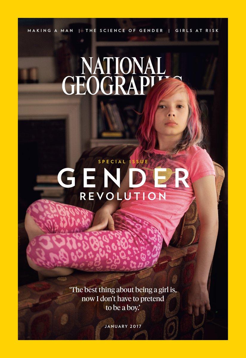 Это войдет в историю: скандальная обложка National Geographic с ребенком-трансгендером